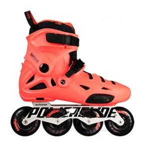 Image 5 - 100% Original 2018 Powerslide Imperial Inline Skates Professional Slalom Inline Skates Roller Free Skating Shoes Sliding Patines