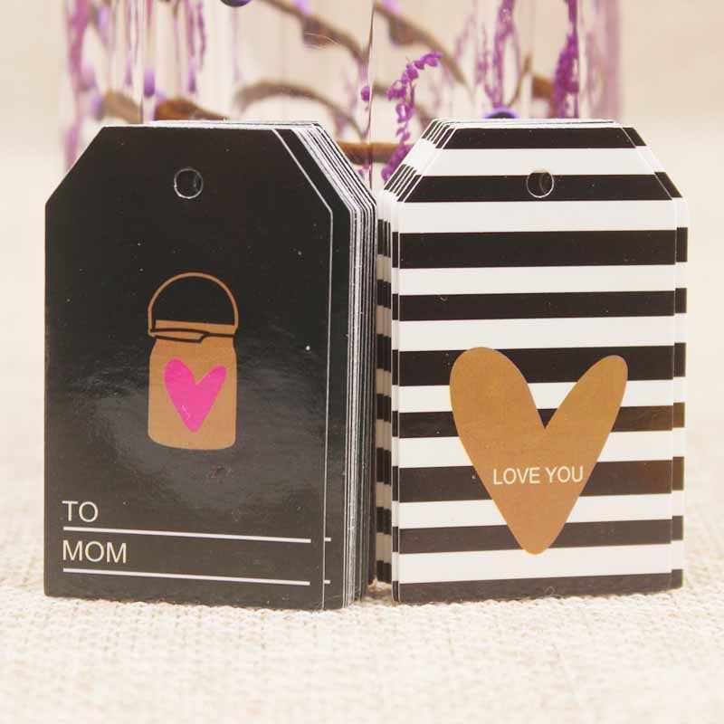 Jóias 100 pcs da forma do coração de casamento lovey Zerong estilos mutli cartão tag cartão de tag do presente de papel com design amor saco cartão de tag do cair