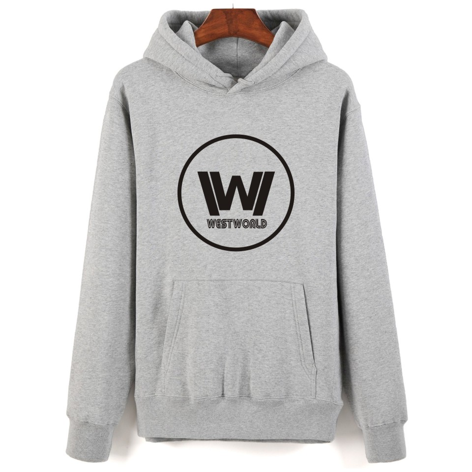 New Design Westworld Printing Harajuku Men Sweatshirt And Plus Size Autumn Style Hooded Pullover West World Clothes With Cap