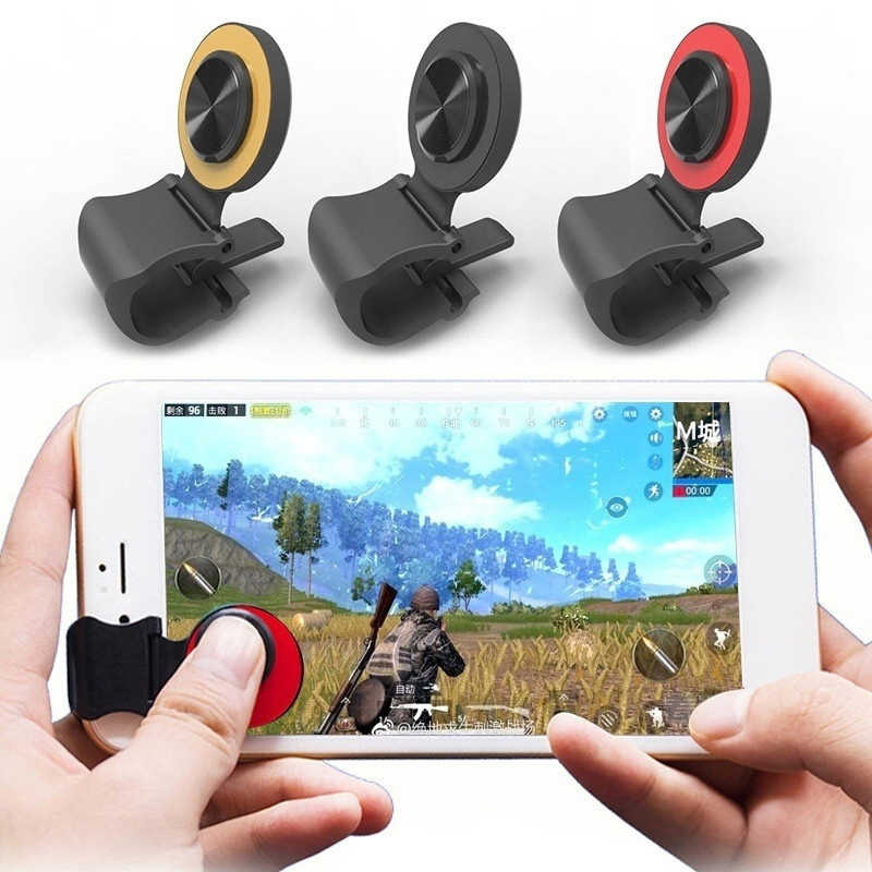 325ba863d 1PCS Game Trigger Fire Button Mobile Phone Gamepad Controller Shooter For  iPhone Mobile Legends For Arena