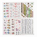 50 Sheets Mixed Styles DIY Decals Nails Art Water Transfer Printing Stickers For Manicure Salon