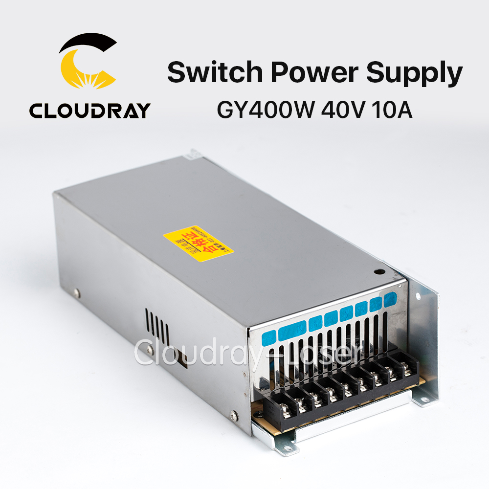 Cloudray Guanyang Switch Power Supply 40V 10A 400W for 57 Stepper Motor Driver CNC Laser Engraving Cutting Machine GY400W-40-A laser cutting machine 57 stepper motor with copper gear