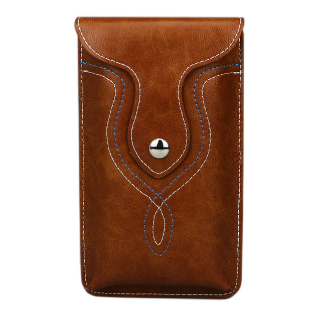 brand new 62bcd d802a US $9.99 |Universal Retro Leather Case Waist Bag For iPhone XS MAX Holster  Pouch Belt Clip For iPhone 8 Plus For Galaxy Note 5-in Phone Pouch from ...