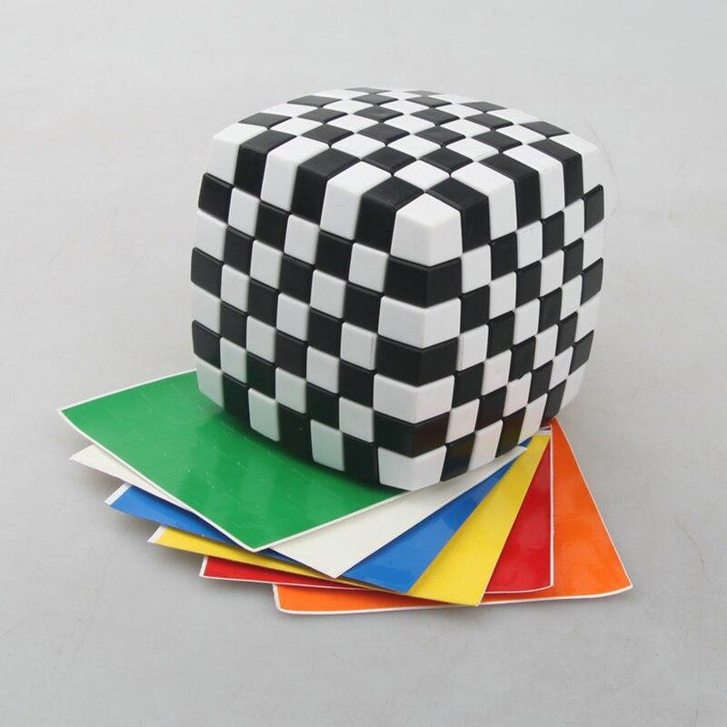 LANLAN Bread Cube 7 7 7 Magic Cube Puzzle Cube Educational Toys 83mm