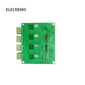 Image 4 - وحدة امدادات الطاقة متعددة القنوات التبديل أربعة شاشة ديجيتال LM2596 وحدة DC DC قابل للتعديل باك الناتج وحدة الطاقة