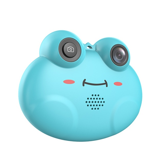 Mini Kids Digital Video Camera Cute Cartoon Frog Toy Camera