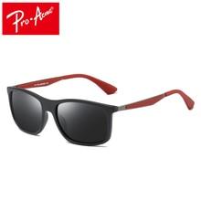 f3831ab56 Pro Acme diseño hombres polarizados cuadrados TR90 marco gafas de sol de  conducción deportes al aire libre ultraligero serie UV4.