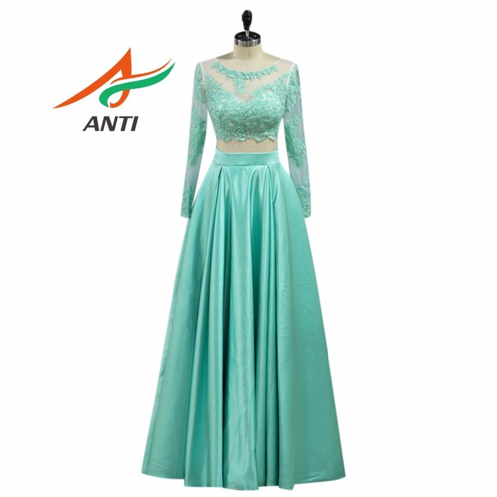 Mint Green Evening Gown