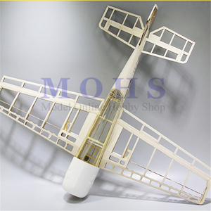 Image 1 - RC aerei BF109 legno aereo kit landing gear cowl baldacchino cerniere blu stampa COMBO RC scala aereo BF 109 kit COMBO
