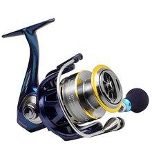 Hot Sale!!Soloplay Chameleon Series 11+1 Bearing Balls Spinning reel fishing reel KS1000-KS4000 5.2:1 bait casting lure fishing
