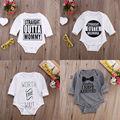Дети Baby Girl Мальчики Одежда Хлопок Боди С Длинным Рукавом Bebes Тела Наряды Onsies Одежда 0-18 М