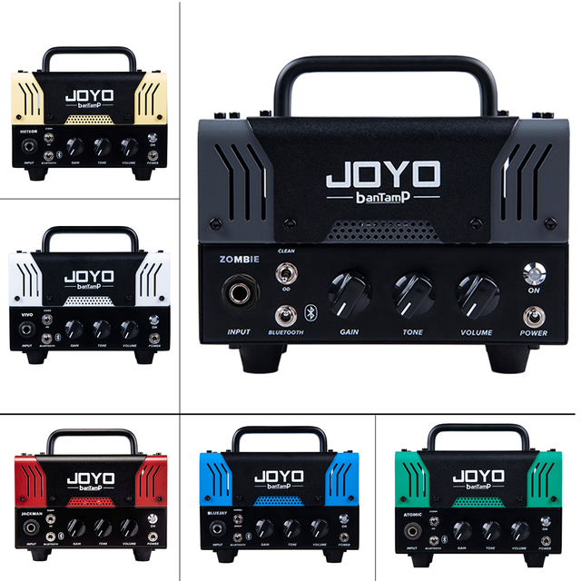 JOYO Electric Bass Guitar Amplifier Tube Built in Multi Effects Mini Speaker Bluetooth banTamP 20W Preamp AMP Guitar Accessories
