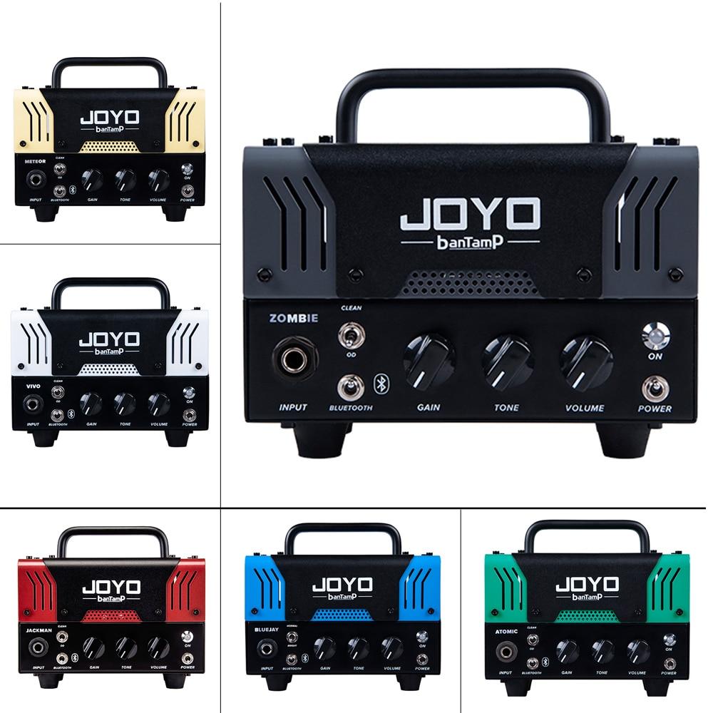 JOYO amplificateur de guitare basse électrique Tube intégré Multi effets Mini haut-parleur Bluetooth banTamP 20 W préampli accessoires guitare