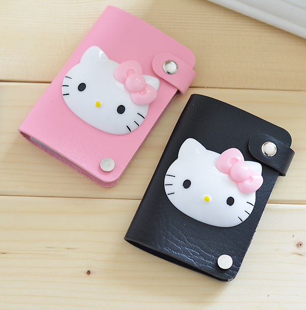 1 pcste kitty cat credit card holdercase card holder wallet 1 pcste kitty cat credit card holdercase card holder wallet storage bags reheart
