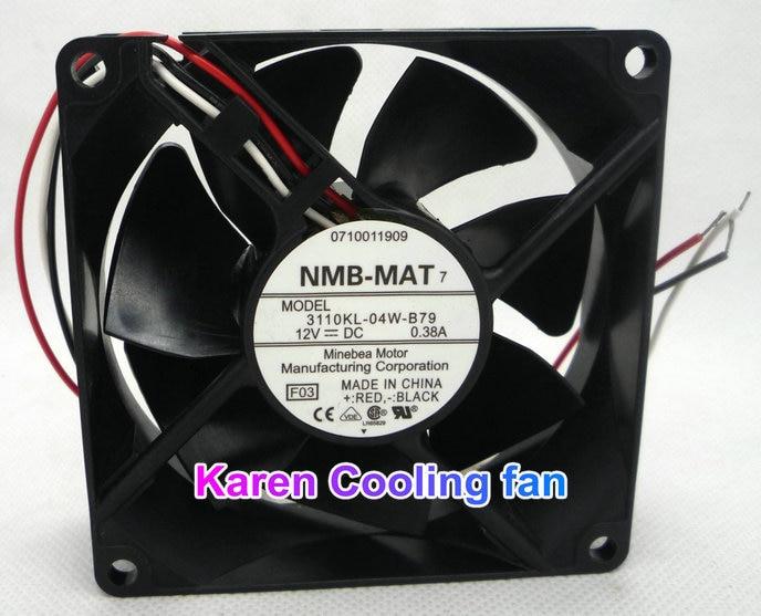 NMB חדש מקורי ** 8025 DC12V 0.38A 3110KL-04W-B79 F03 3wire - רכיבי מחשב