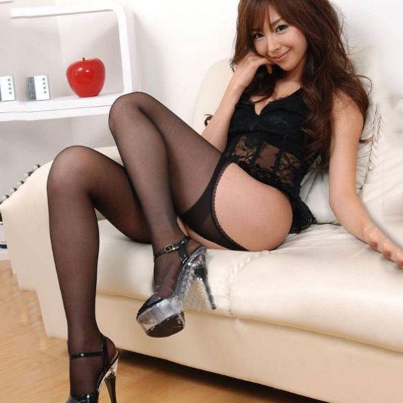 Sexy Girls In Black Stockings