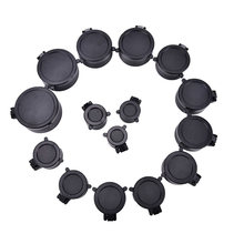 1 pcs Rifle Scope Lens Cover Cap Voor Kaliber Jacht Scope Quick Flip Up Bescherming Lense Deksel Kaliber 25.5- 62mm(China)