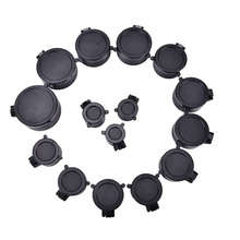 1 pcs Rifle Scope Lens Cover Cap For Caliber Hunting Scope Q