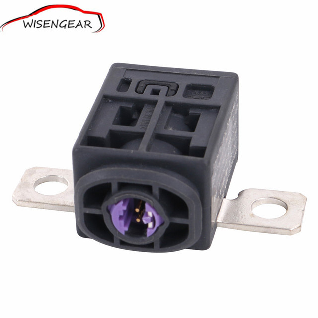 HIgh quality Black Battery Fuse Box Overload Protection Trip For VW