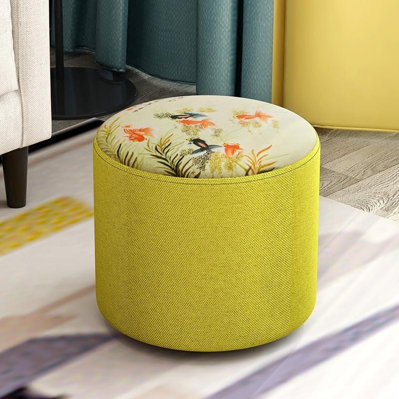 Креативный стул модный диван тканевый гостиная деревянный каркас