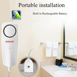 Image 3 - KONLEN capteur de fuite de liquide WIFI, sans fil, détecteur de niveau deau, Buzzer de débordement, application Tuya Smart Life et alarmes Push