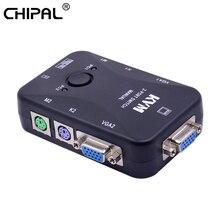 CHIPAL 2 порта PS/2 квм переключатель 1920*1440 VGA