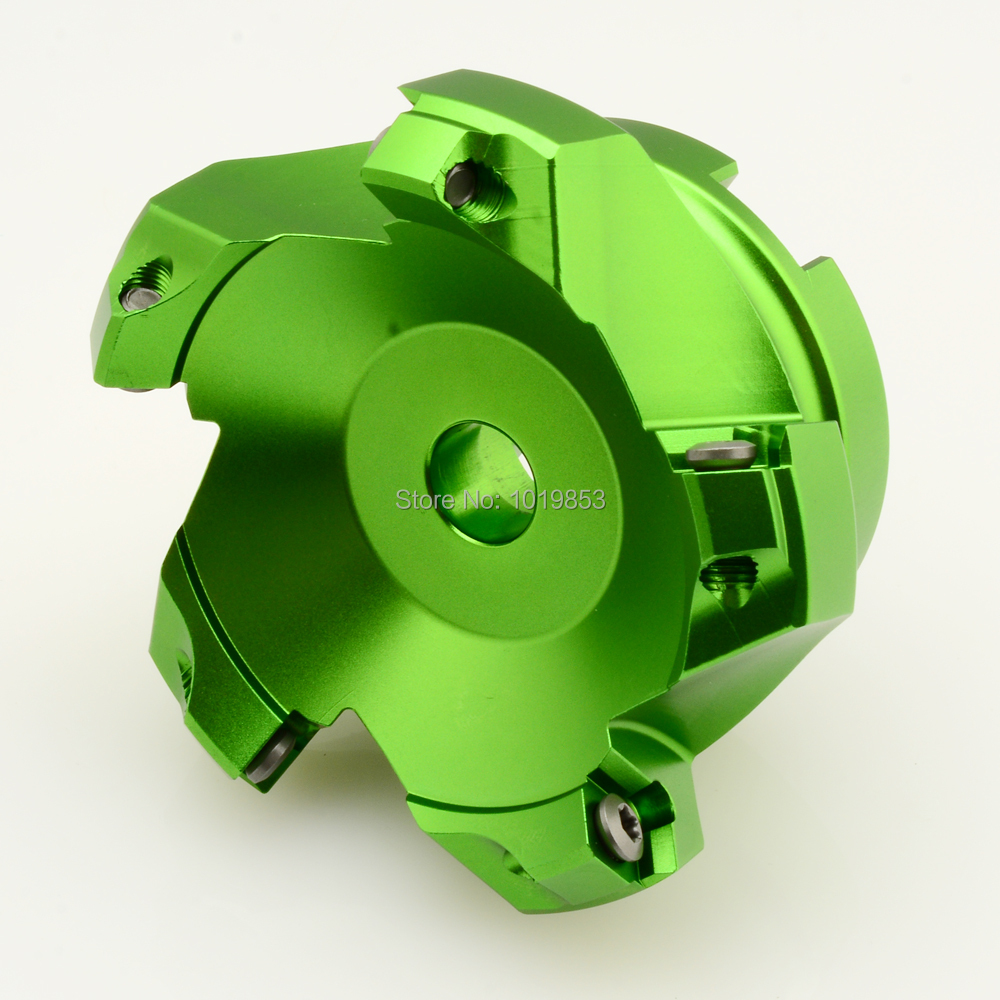 KM12-80-27-5T 45 degree aluminium indexable face mill cutter for SEKT1204 carbide inserts aluminium alloy