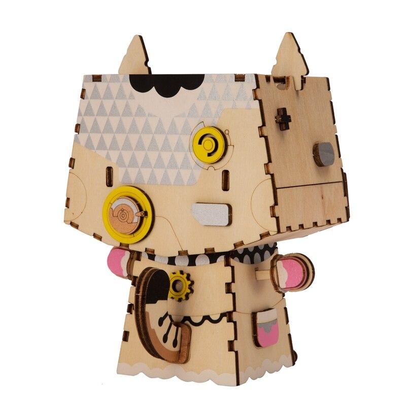 Robotime Kids Ересектерге арналған Cute Kitty - Ойындар мен басқатырғыштар - фото 5