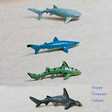 toy marine animal model sharks 4pcs/set pvc figure