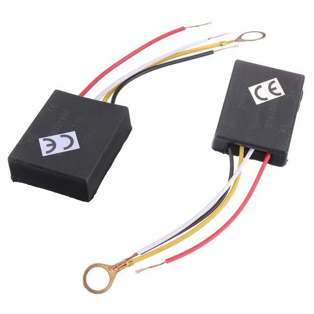 2 X 110V 3Way Light Touch Sensor Switch Control for Lamp Desk Bulb