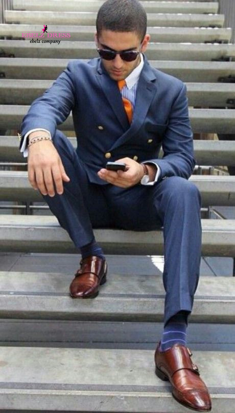 Aliexpress.com : Buy 2015 New Arrival Men Royal Blue Terno Noivo