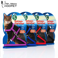 Cat Harness And Leash Nylon Products For Animals Adjustable Pet Traction Harness Belt Cat Kitten Halter