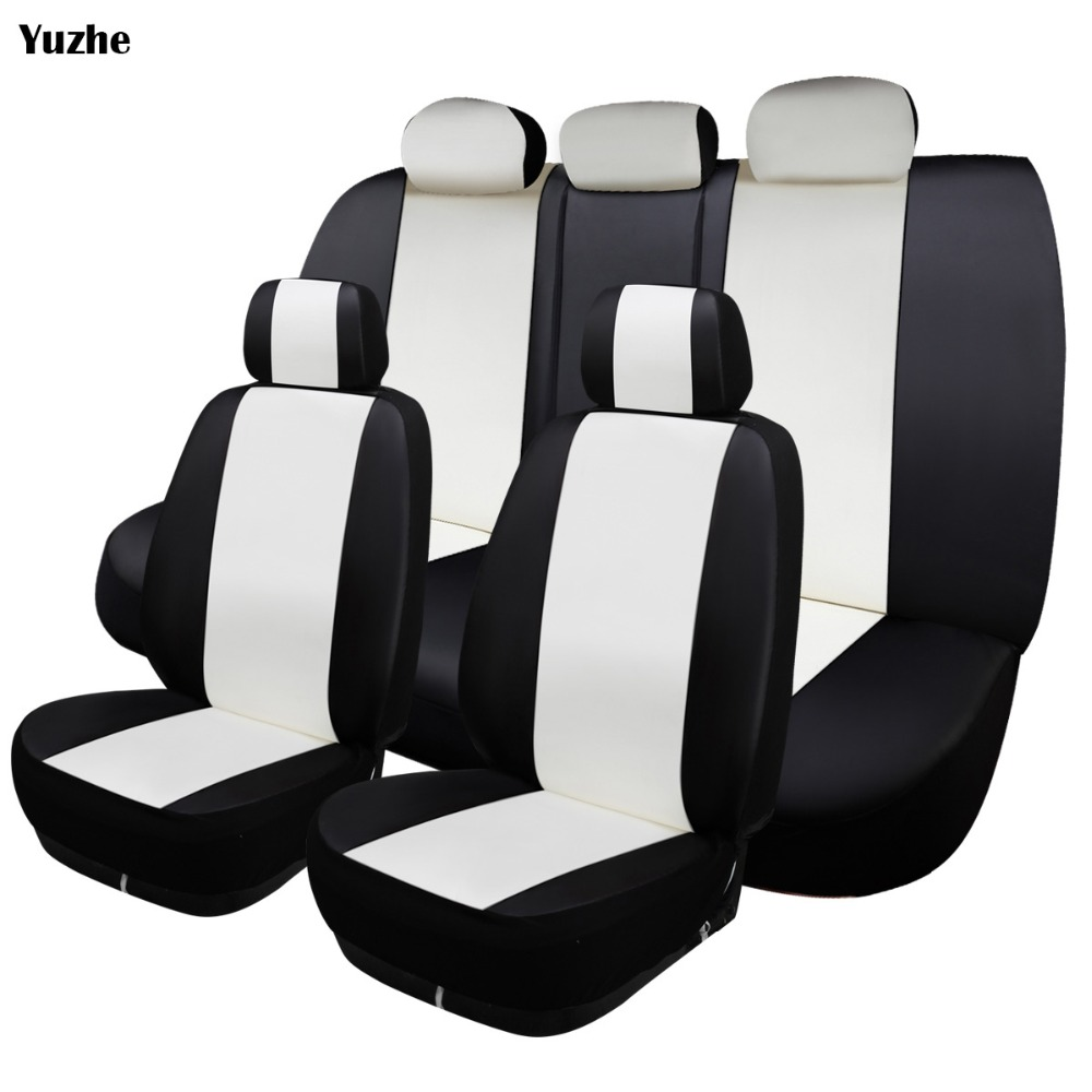 Groovy Us 24 0 50 Off Yuzhe Universal Auto Leather Car Seat Cover For Bmw E30 E34 E36 E39 E46 E60 E90 F10 F30 X3 X5 X2 X1 F11 Automobiles Accessories In Machost Co Dining Chair Design Ideas Machostcouk
