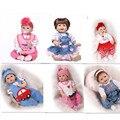 Bom Preço de 22 Polegadas Bebê Reborn Boneca Roupas Para 55 cm Silicone Acessório Para Bebê Lifelike Boneca Reborn Boneca Venda Quente boneca