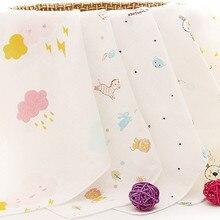 10 шт./лот, мультяшное Хлопковое полотенце, мягкое детское полотенце, носовой платок для младенцев, детей, кормление купание, для мытья лица, 25*25 см