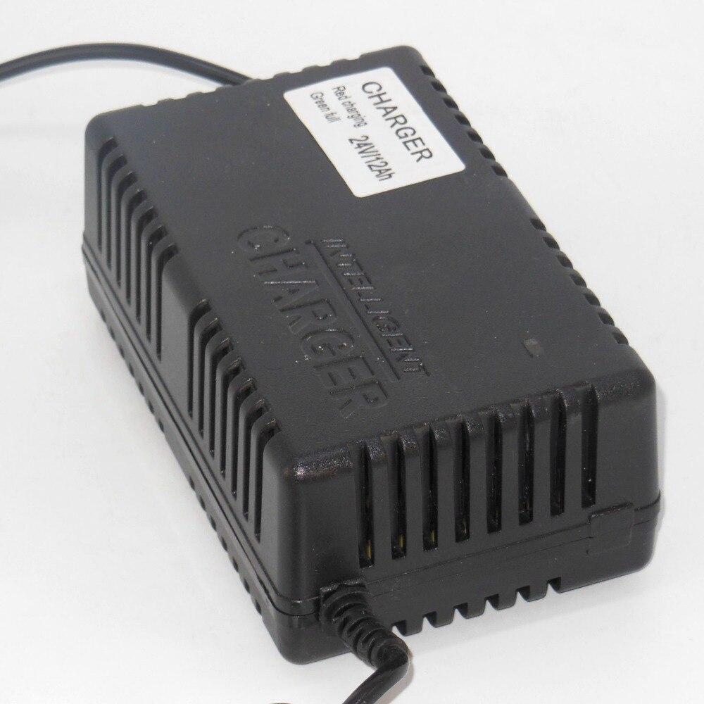Freies Verschiffen Hohe Qualität 24VDC 1.8A Elektrische Fahrrad Ladegerät/Blei Säure batterie ladegerät