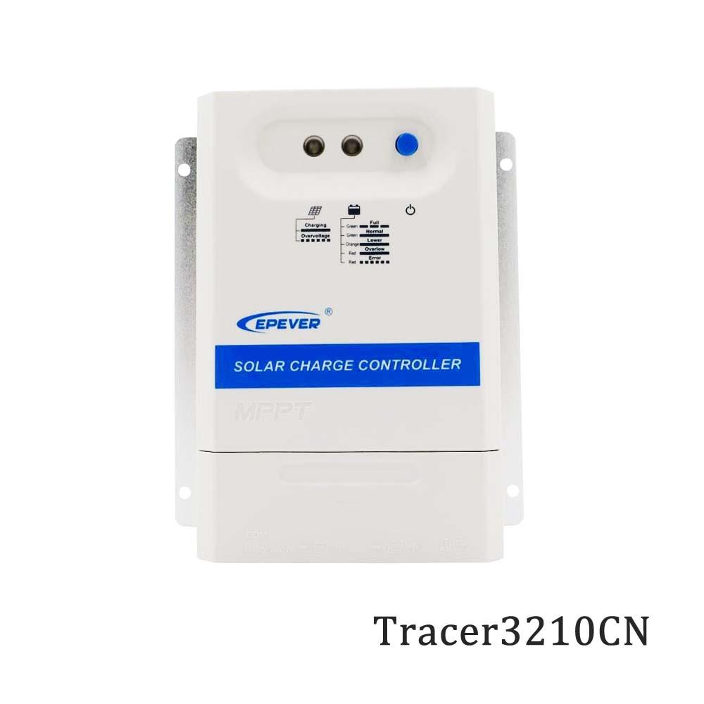 Tracer3210CN 3210CN 30A 12V 24V MPPT Solar Controller Tracer epsolar PV Solar cell Panel charger regulatorTracer3210CN 3210CN 30A 12V 24V MPPT Solar Controller Tracer epsolar PV Solar cell Panel charger regulator