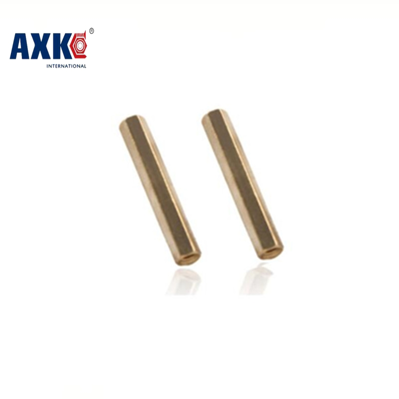 2018 Promotion Real Vis Screws Drywall Axk 20pcs/lot M6*8/10/12/15/20/25/30/35/40/45/50/60 Female Brass Hex Standoff Spacer