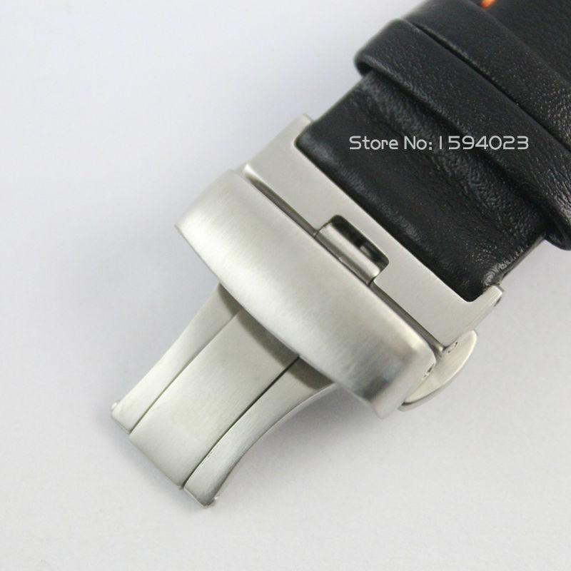 23 mm (přezka 20 mm) T035617 / T035439A Stříbrná spona motýlů - Příslušenství k hodinkám - Fotografie 5