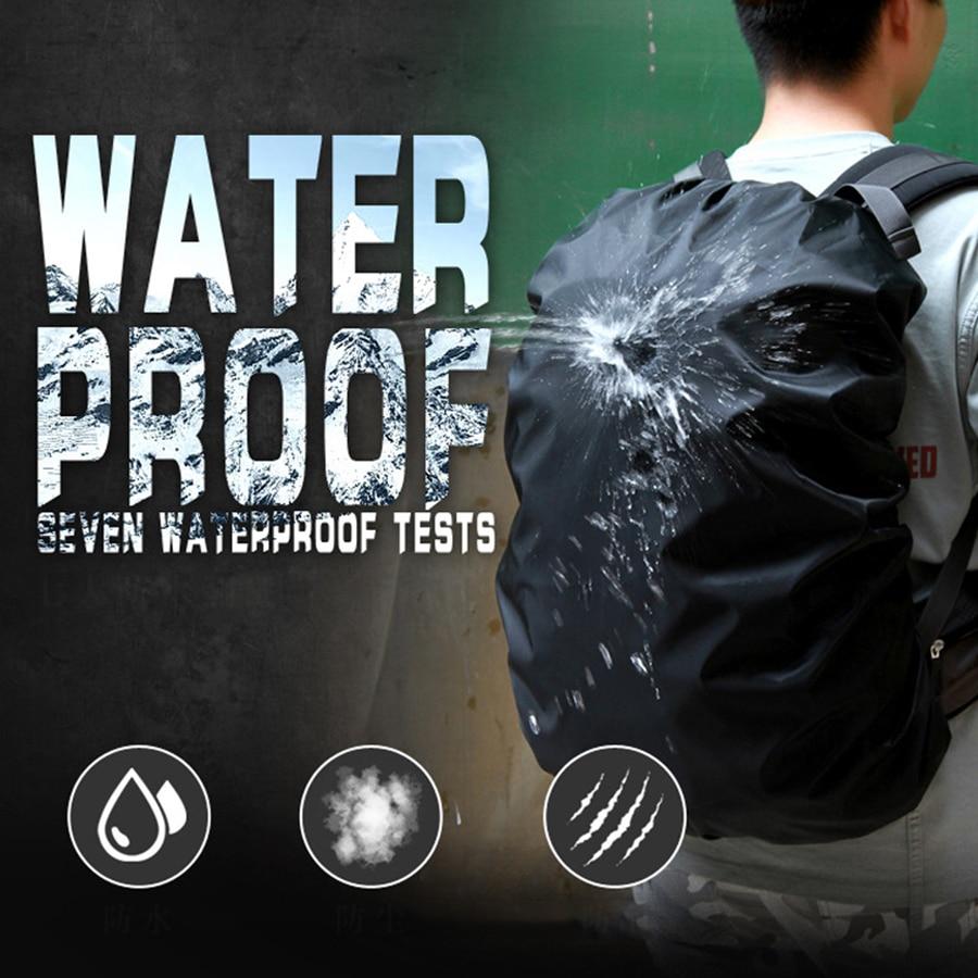 Waterproof backpack rain cover