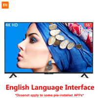 Xiaomi Smart 4A 55 inches 3840*2160 FHD Full 4K HD Screen TV Set HDMI WIFI Ultra thin 2GB Ram 8GB Rom Game Play Display Dolby