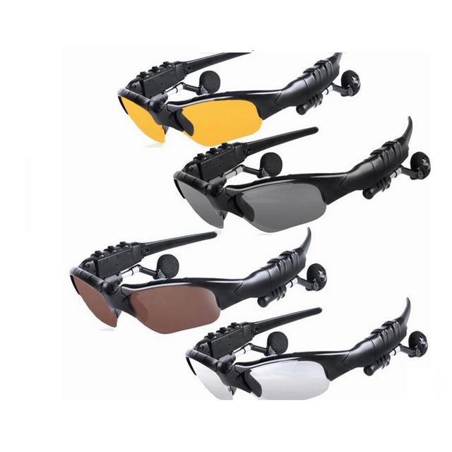 Smart Sunglasses USB Bluetooth Headset Outdoor Glasses Earbuds