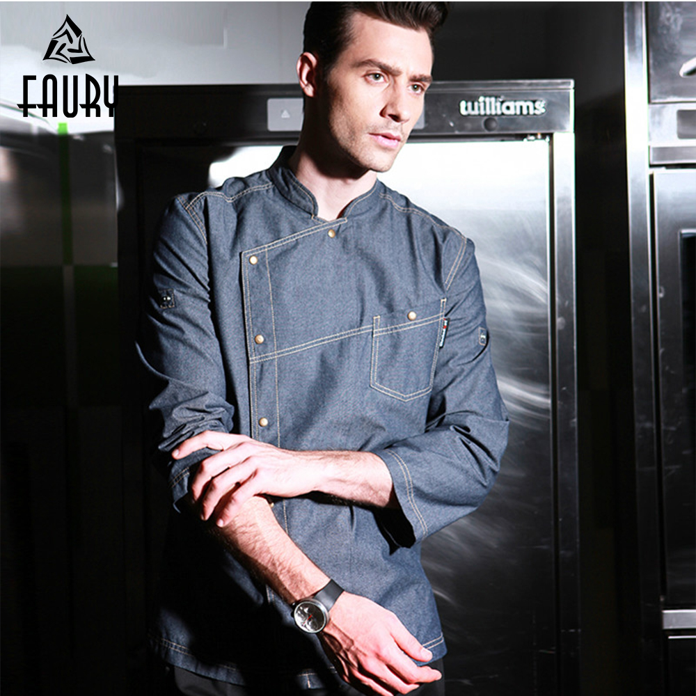 Haute qualité Chef veste uniformes vêtements Services alimentaires à manches courtes hommes cuisson vêtements travail porter cuisine Restaurant combinaisons