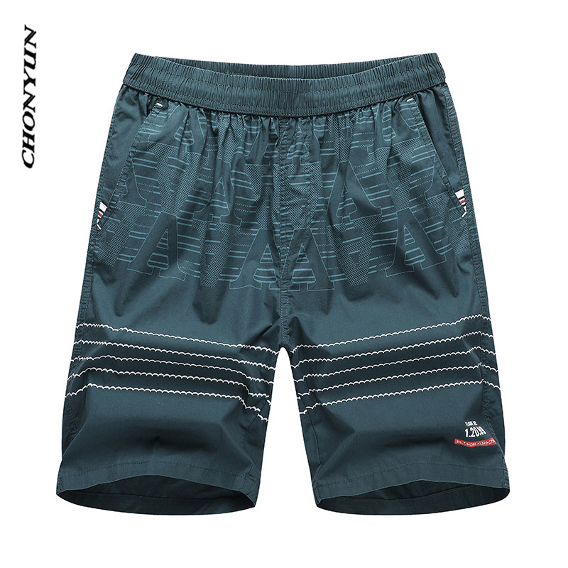 Brand New Summer Casual Shorts Men Running Fitness Short Trousers Striped Loose Sweatpants High Quality Workout Clothes 3XL