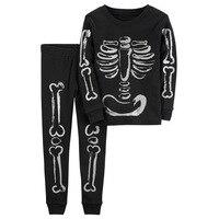 Popular Hallowmas Children Clothing Set Autumn Boys Girls Homewear Festival Skeleton Costume For Kids