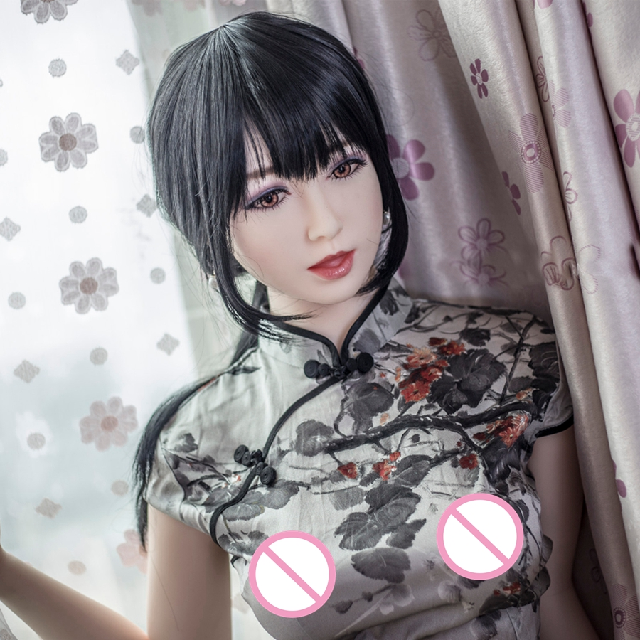 Pinklover 158cm Big Breast Realistic Real Silicone Sex Dolls for men Masturbator Vagina Pussy Adult Toys pinklover 158cm interchanger head breast body japanese silicone sex dolls for men realistic masturbator vagina pussy adult sexy