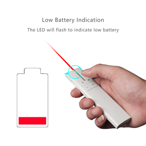 Image 5 - Knorvay N89 Rechargeable Wireless Presenter Laser Pointer Air Mouse Presenter 2.4GHz PPT USB Remote Control