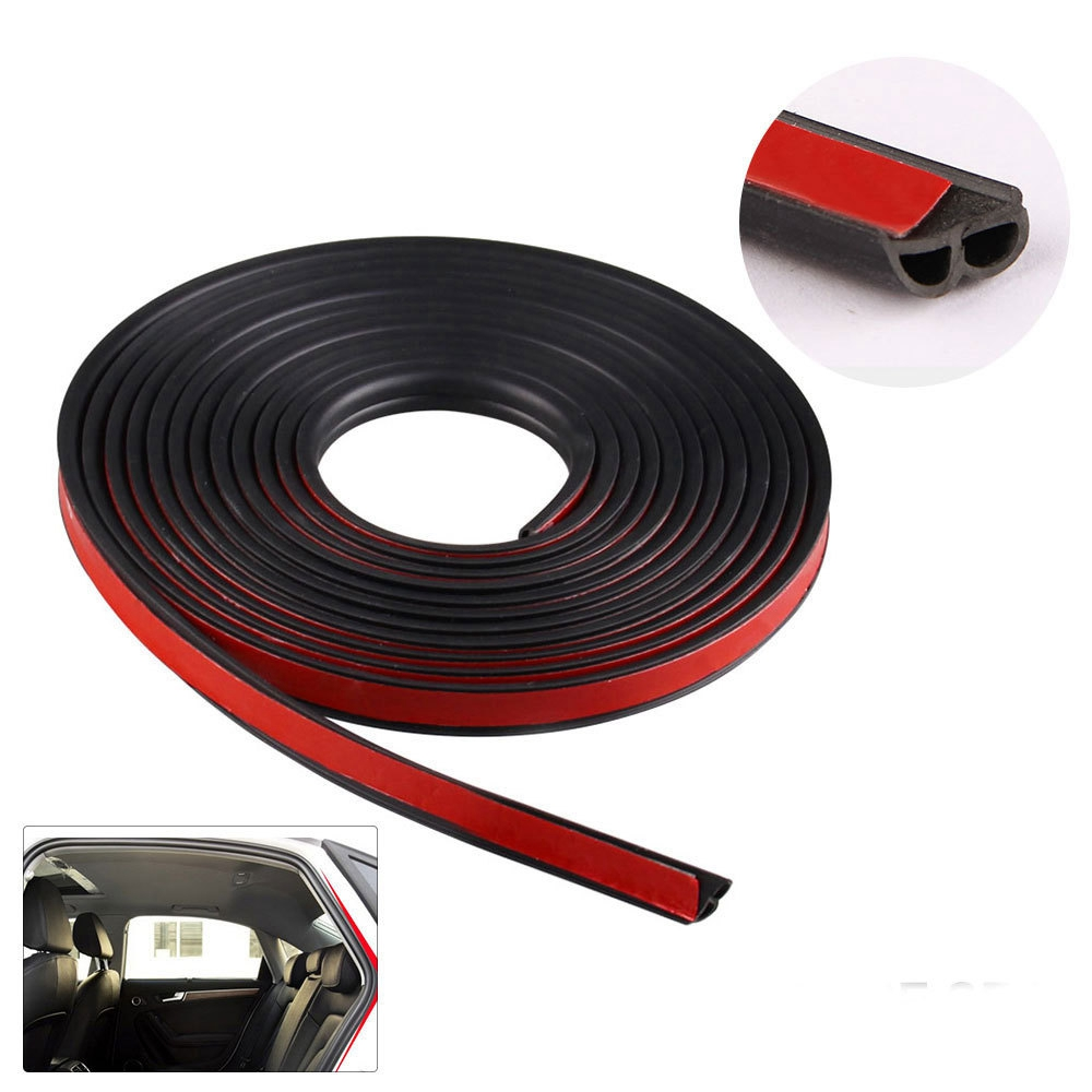 Image 5 - B shaped Door Seals Car Waterproof And Sound proof Strips B Type 2M 3M 4M Door Seals Car Rubber Seals Edge Trim-in Fillers, Adhesives & Sealants from Automobiles & Motorcycles