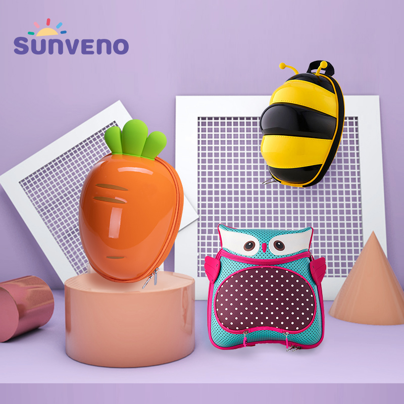 Sunveno Cute Carton Child Toddler Leash Backpack Baby Harness Backpack Keep Children Close And Safe In Crowds For Baby 1-3years