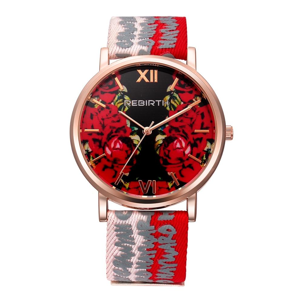 Sieviešu modes kvarca pulkstenis sievietēm neilona un ādas siksnas pulksteņi kleita meitene studenta rokas pulkstenis Folwer Montre Femme